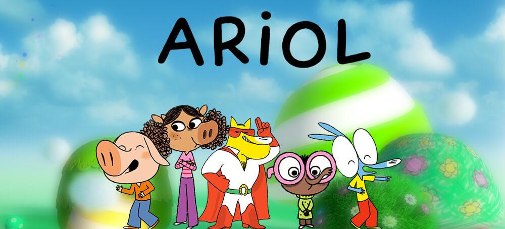 Ariol de nouvelles aventures enfants - Ariol dessin anime ...