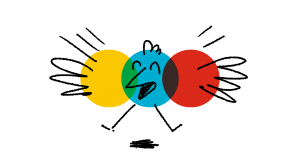 bayam logo oiseau