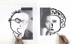 100(0) moments de dessin - Demi portraits