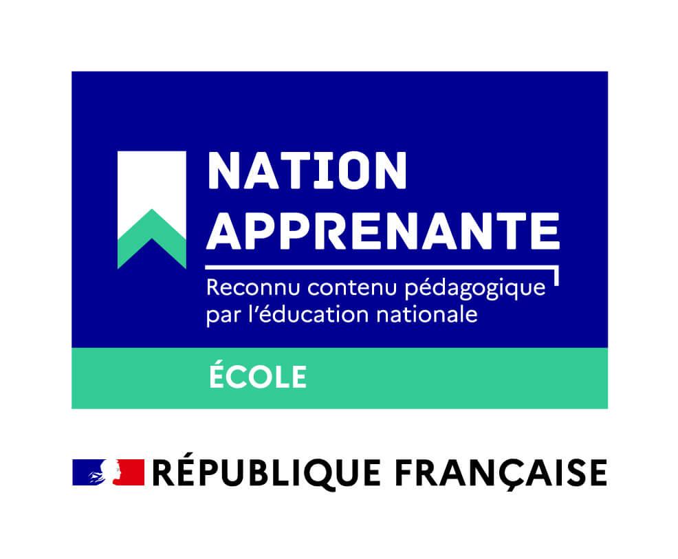 logo nation apprenante ecole