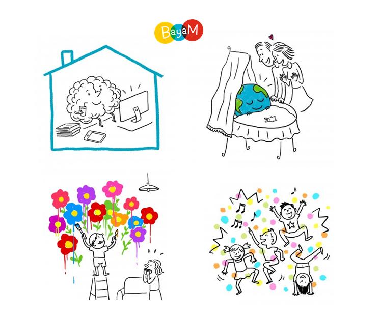 Festival Récréations Bayam dessins