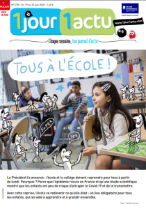magazine 1 jour 1 actu