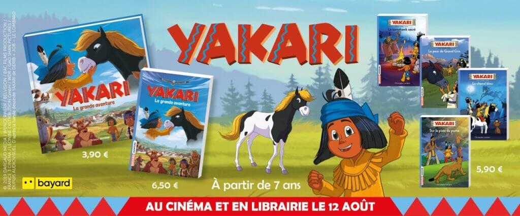 bannière yakari livres