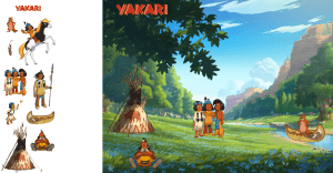carte animée yakari