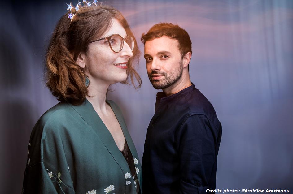 Photo Antoine Dole et Diane Le Feyer avec credit