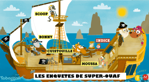 Super ouaf pirate logos