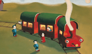 en avant petit train