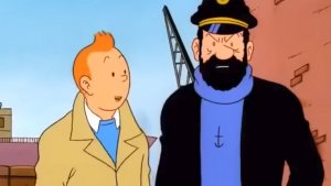 tintin et capitaine Haddock