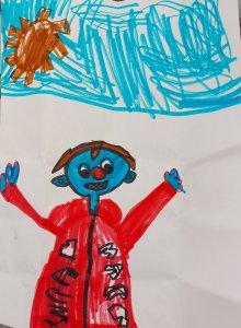 Marwan, 5 ans
