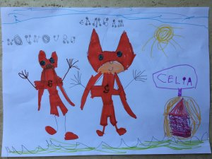 Celia, 4 ans